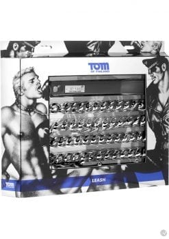 Tom Of Finland Leash Gun Metal 42 Inch