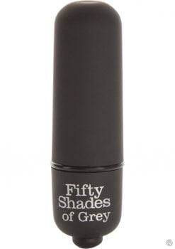 Fifty Shades Of Grey Heavenly Massage Bullet Black
