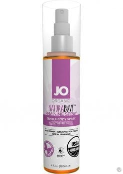 Jo Organic Naturalove Feminine Spray Berry Refreshing 4 Ounce