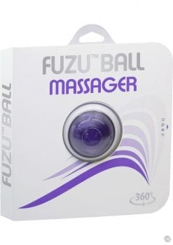 Fuzu Ball Handheld 360 Degrees Rolling Ball Massager Purple