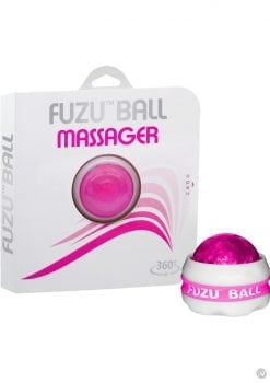 Fuzu Ball Handheld 360 Degrees Rolling Ball Massager Pink 20 Each Per Counter Display