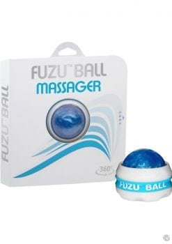 Fuzu Ball Handheld 360 Degrees Rolling Ball Massager Blue 20 Each Per Counter Display
