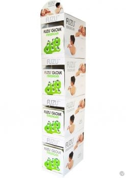 Fuzu Glove Massager Neon Green 20 Each Per Counter Display