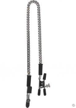 Alligator Tip Clamp Adjustable Jewel Chain