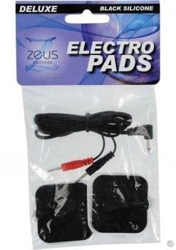Zeus Deluxe Silicone Electro Pads 2pk
