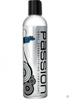 Passion Anal Desensitizing Water Based Lubricant 8.25 Ounce