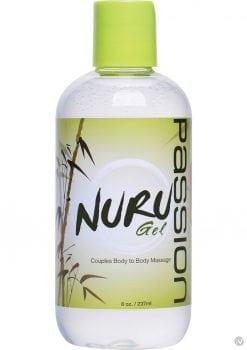 Passion Nuru Gel Couples Body To Body Massage 8 Ounce