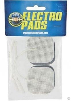 Zeus Adhesive Electro Pads 4pk