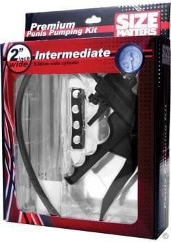 Size Matters Intermediate Penis Pump Kit 2 Inch Wide