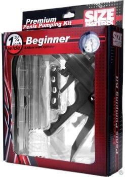 Size Matters Beginner Penis Pump Kit 9 Inch