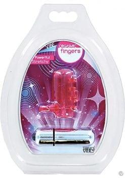 Trinity Vibes Orgasmic Fingers Finger Vibe Waterproof Pink