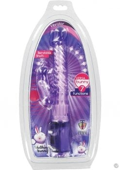 Trinity Vibes Versa Bunny Bendable Shaft Purple