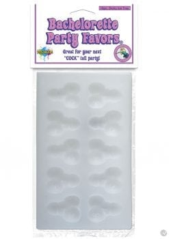 Bachelorette Party Favors Sexy Mini Dicky Ice Tray 10 Piece
