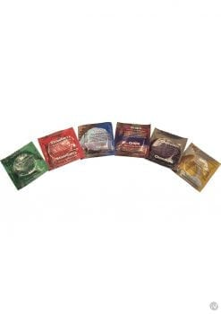 Trustex Assorted Flavor Condoms 288 Per Bowl