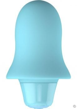 Cute Stella Silicone Bullet Stimulator Waterproof Blue 2.95 Inch