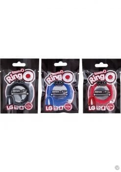 Ring O Pro Large Silicone Cockrings Waterproof Assorted Colors Pop Box