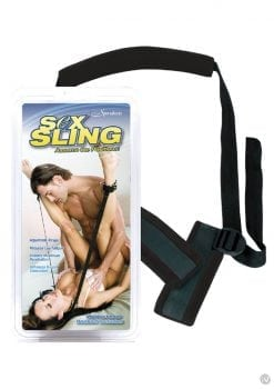 Sex Sling Assume The Position Neoprene Black