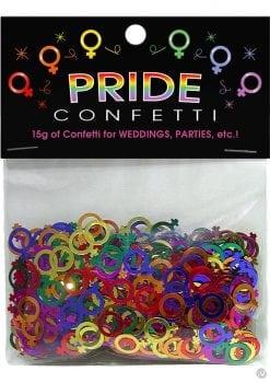 Pride Confetti Lesbian