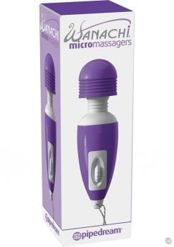Wanachi Micro Massager Keychain Purple 2.5 Inch