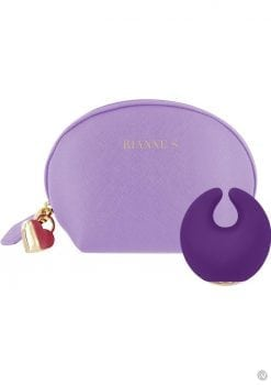 Rianne S Moon Rechargeable Silicone Clitoral Stimulator Waterproof Purple