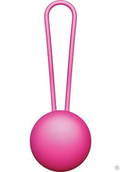 Vnew Weighted Kegel Toner Level 1 Silicone Ball Pink 1 Ounce