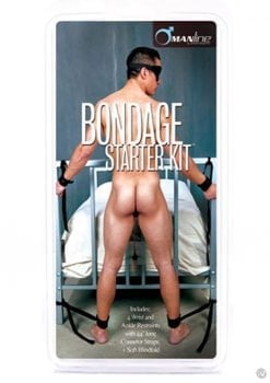 Manbound Bondage Starter Kit Black
