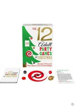 The 12 Adult Party Games Of Christmas