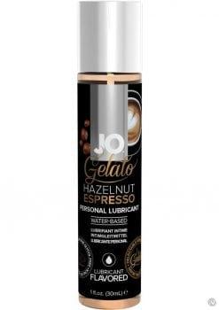 Jo Gelato Water Based Personal Lubricant Hazelnut Espresso 1 Ounce Bottle