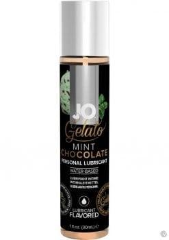 Jo Gelato Water Based Personal Lubricant Mint Chocolate 1 Ounce Bottle
