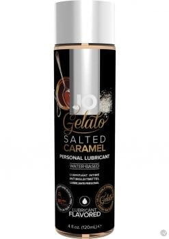 Jo Gelato Water Based Personal Lubricant Salted Caramel 4 Ounce Bottle