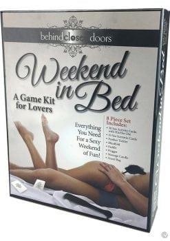 Behind Closed Doors Weekend In Bed Kit Game For Lovers