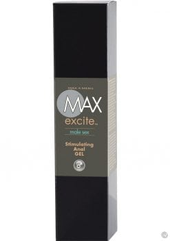 Max 4 Men Max Excite Stimulating Anal Gel 1 Ounce Boxed