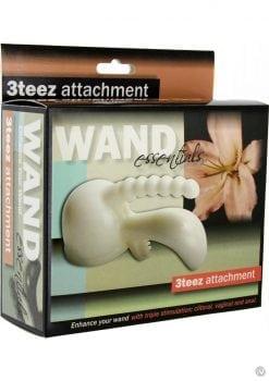 Wand Essentials 3teez Wand Attachment White