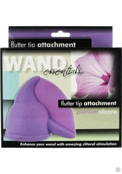 Wand Essentials Flutter Tip Silicone Wand Attachment Purple