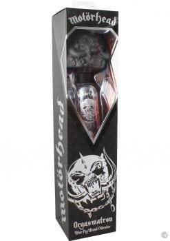 Motorhead Orgasmatron War Pig Plug In Wand Vibrator Black