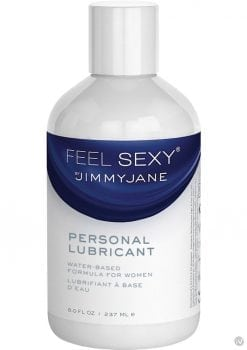 JimmyJane Feel Sexy Personal Water Based Lubricant 8 Ounce