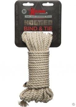 Kink Hogtied Bind and Tie Hemp Bondage Rope 30 Feet