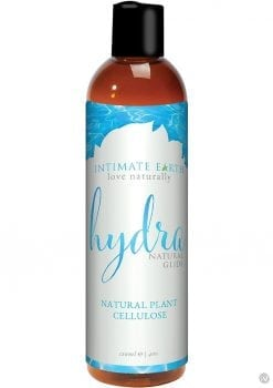Intimate Earth Hydra Natural Glide Water Based Natural Plant Cellulose Lube 4 Ounce