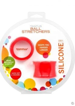 Ball Strecher Silicone Red
