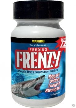 Feeding Frenzy Ultimate Male Enhancement Pills 12 Each Per Bottle
