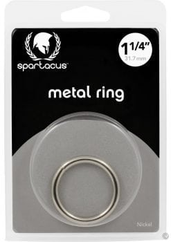 Metal Cock Ring 1.25 Inch Nickel