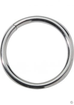 Metal Cock Ring 2 Inch Nickel