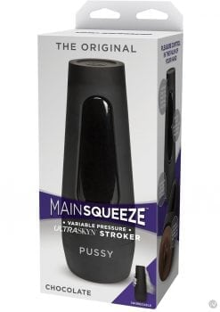 Main Squeeze Original Ultraskyn Stroker Pussy Chocolate 7.5 Inch