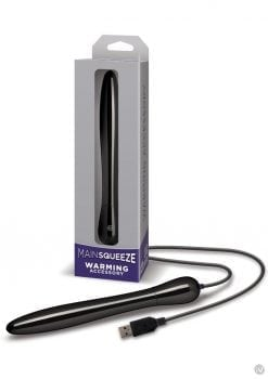 Main Squeeze Warming Accessory Black 7.25 Inch