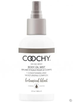 Coochy Oh So Sexy Body Oil Mist Botanical Blast 4 Ounce