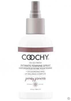 Coochy Oh So Fresh Intimate Feminine Spray Peony Prowess 4 Ounce
