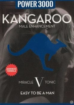 Kangaroo Power 3000 Miracle V Tonic Male Enhancement Pill 2 Each Per 6 Pack