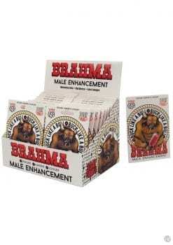 Brahma Male Enhancement Pills 24 Packs Per Counter Display