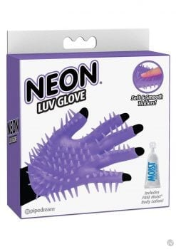 Neon Luv Glove Purple