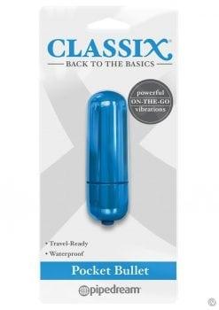 Classix Pocket Bullet Blue